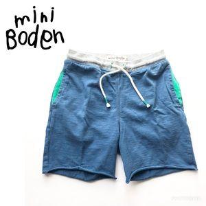 Mini Boden cotton contrasting shorts, 9Y